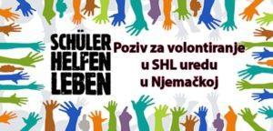 """Volontiranje u okviru """"Incoming programa"""" pri fondaciji Schüler Helfen Leben"""