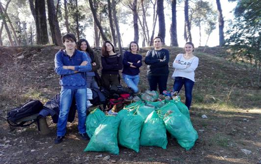 Čišćenje brda Ljubović